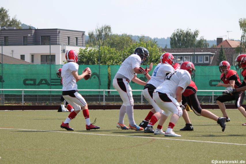 Sommer Camp der Jugend Footballer der Marburg Mercenaries 163