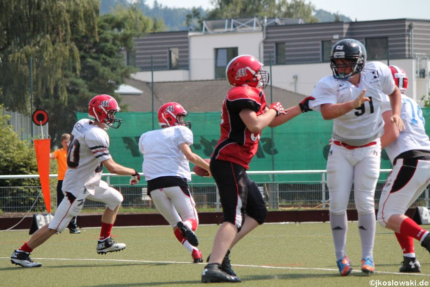 Sommer Camp der Jugend Footballer der Marburg Mercenaries 165