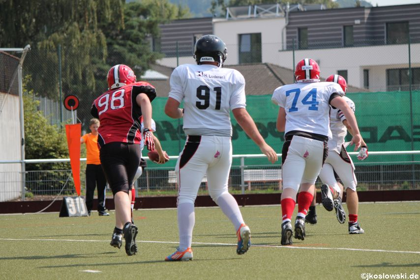 Sommer Camp der Jugend Footballer der Marburg Mercenaries 166