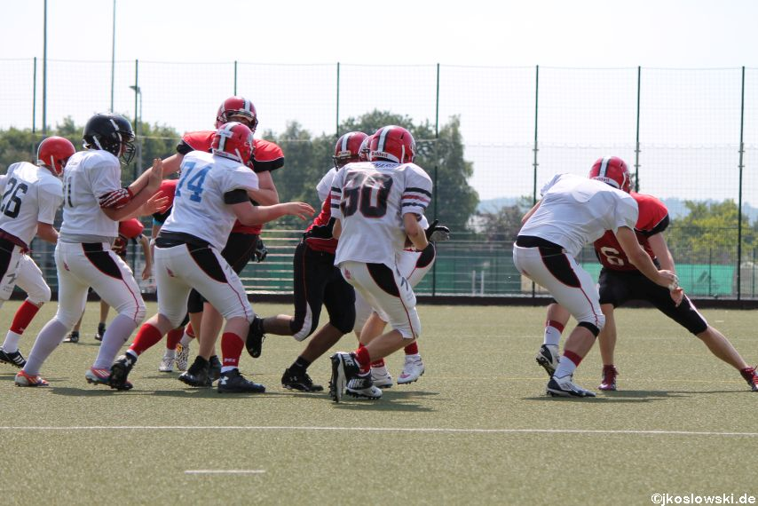 Sommer Camp der Jugend Footballer der Marburg Mercenaries 172