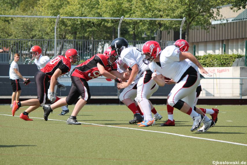 Sommer Camp der Jugend Footballer der Marburg Mercenaries 177