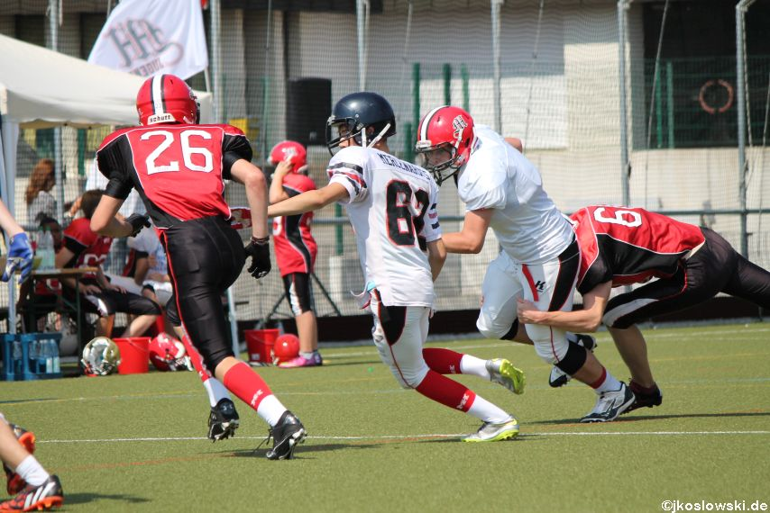 Sommer Camp der Jugend Footballer der Marburg Mercenaries 200