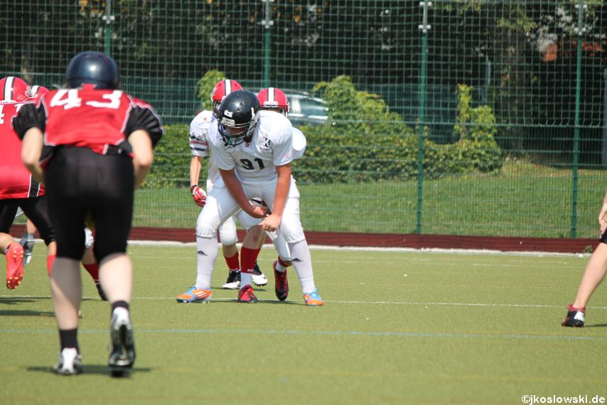 Sommer Camp der Jugend Footballer der Marburg Mercenaries 202