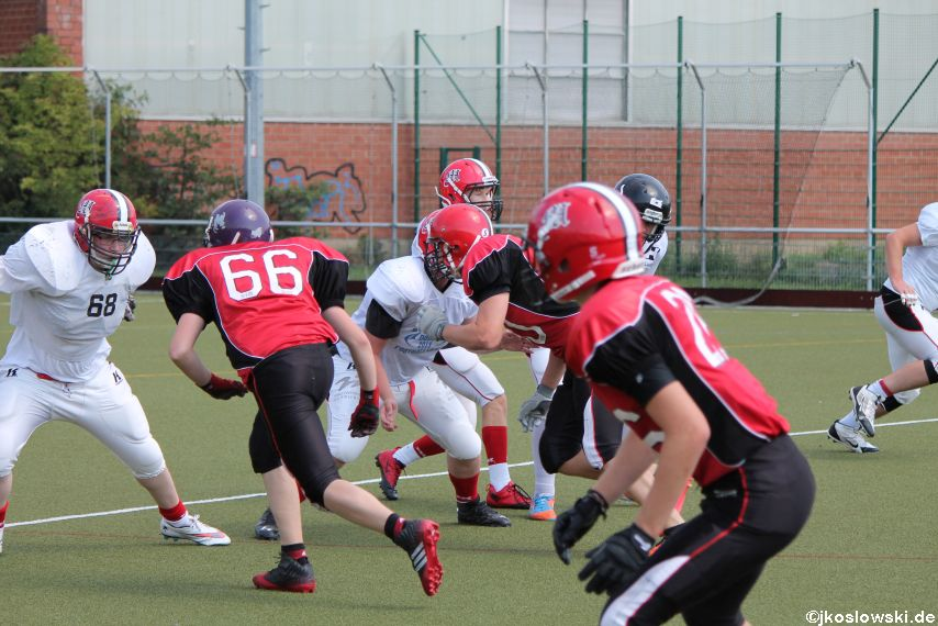 Sommer Camp der Jugend Footballer der Marburg Mercenaries 203