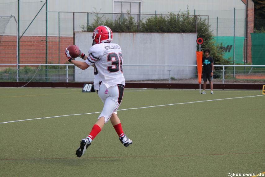 Sommer Camp der Jugend Footballer der Marburg Mercenaries 205
