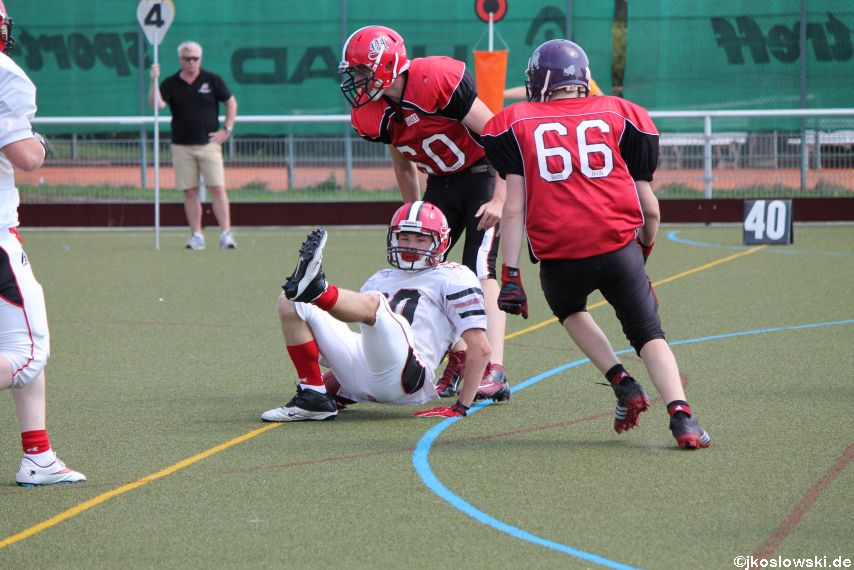 Sommer Camp der Jugend Footballer der Marburg Mercenaries 206