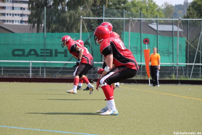 Sommer Camp der Jugend Footballer der Marburg Mercenaries 207