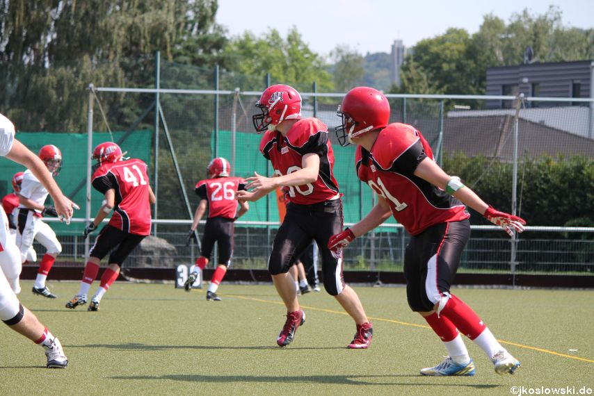 Sommer Camp der Jugend Footballer der Marburg Mercenaries 208