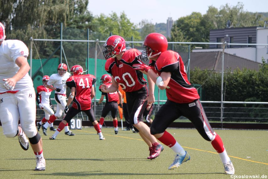 Sommer Camp der Jugend Footballer der Marburg Mercenaries 209