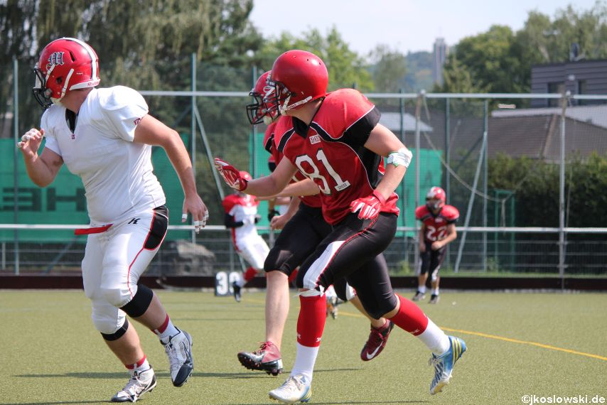 Sommer Camp der Jugend Footballer der Marburg Mercenaries 210