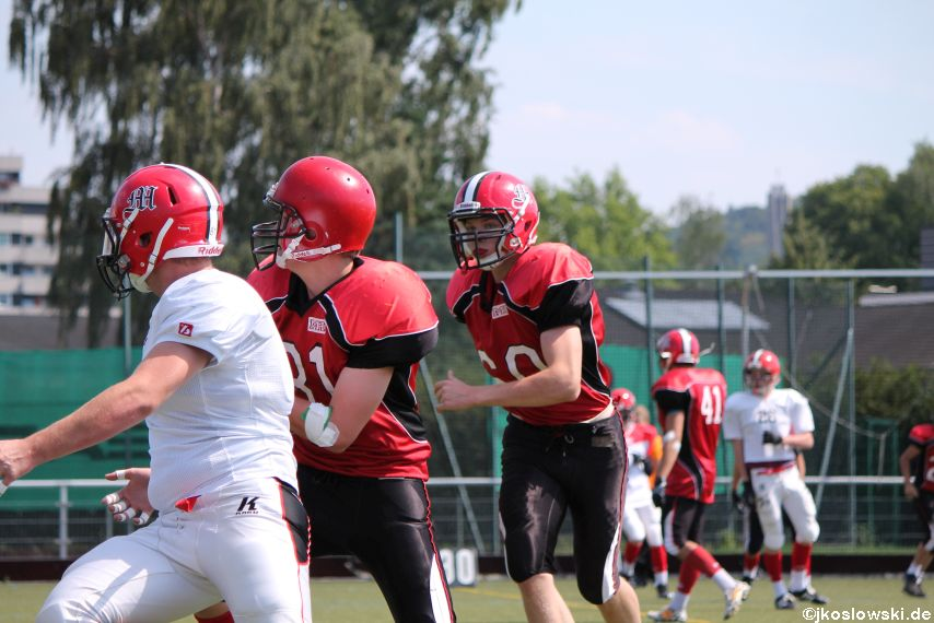 Sommer Camp der Jugend Footballer der Marburg Mercenaries 212