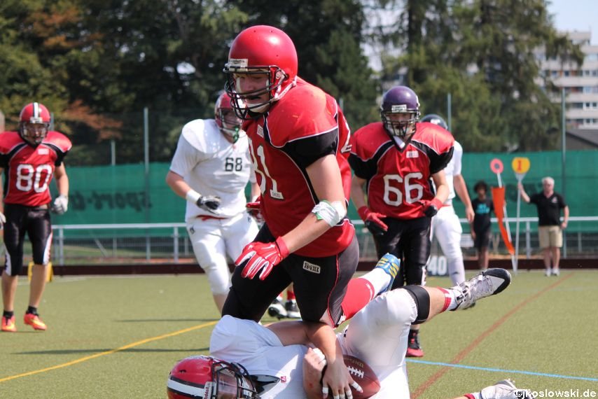 Sommer Camp der Jugend Footballer der Marburg Mercenaries 215