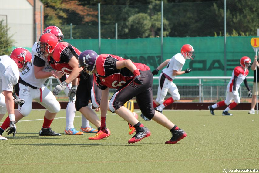 Sommer Camp der Jugend Footballer der Marburg Mercenaries 216