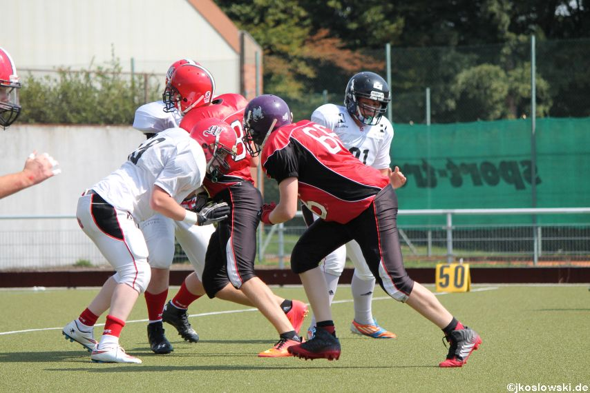 Sommer Camp der Jugend Footballer der Marburg Mercenaries 217