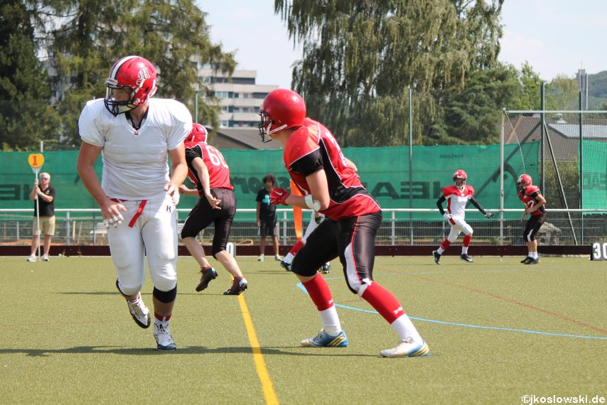 Sommer Camp der Jugend Footballer der Marburg Mercenaries 218