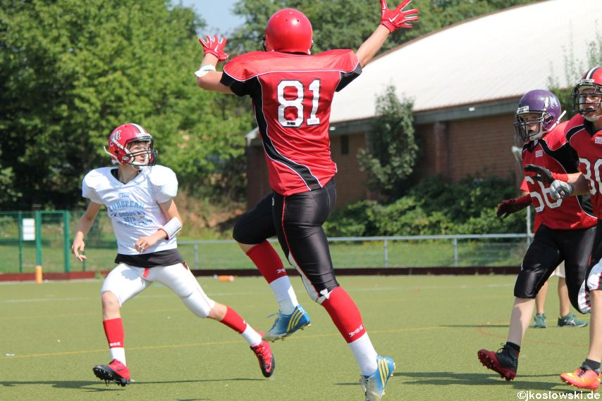 Sommer Camp der Jugend Footballer der Marburg Mercenaries 219
