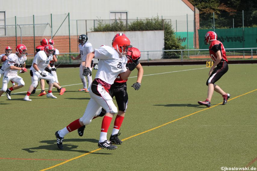 Sommer Camp der Jugend Footballer der Marburg Mercenaries 220
