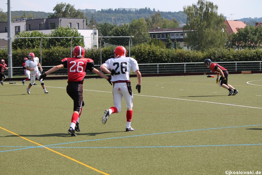 Sommer Camp der Jugend Footballer der Marburg Mercenaries 221
