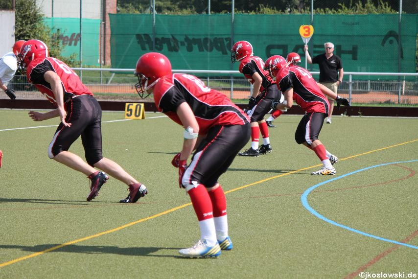 Sommer Camp der Jugend Footballer der Marburg Mercenaries 222