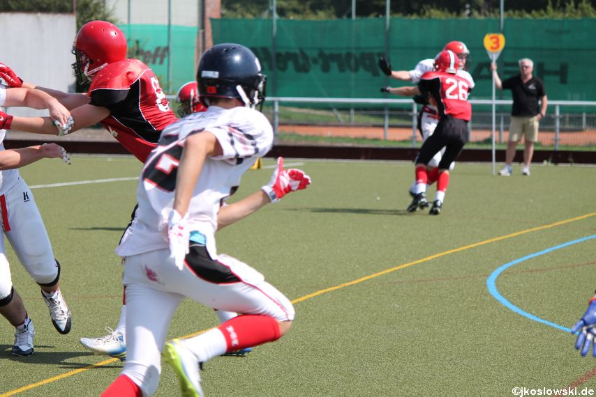 Sommer Camp der Jugend Footballer der Marburg Mercenaries 224