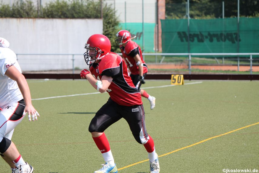 Sommer Camp der Jugend Footballer der Marburg Mercenaries 225