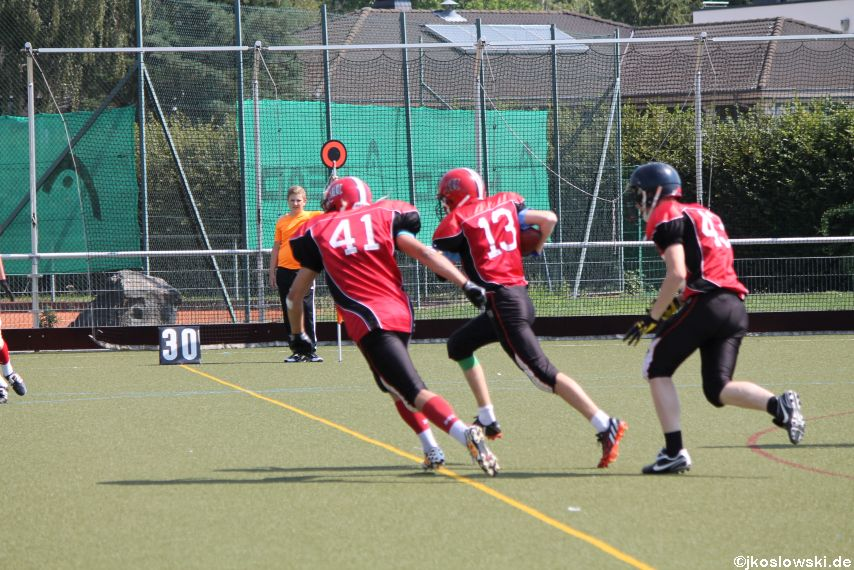 Sommer Camp der Jugend Footballer der Marburg Mercenaries 226