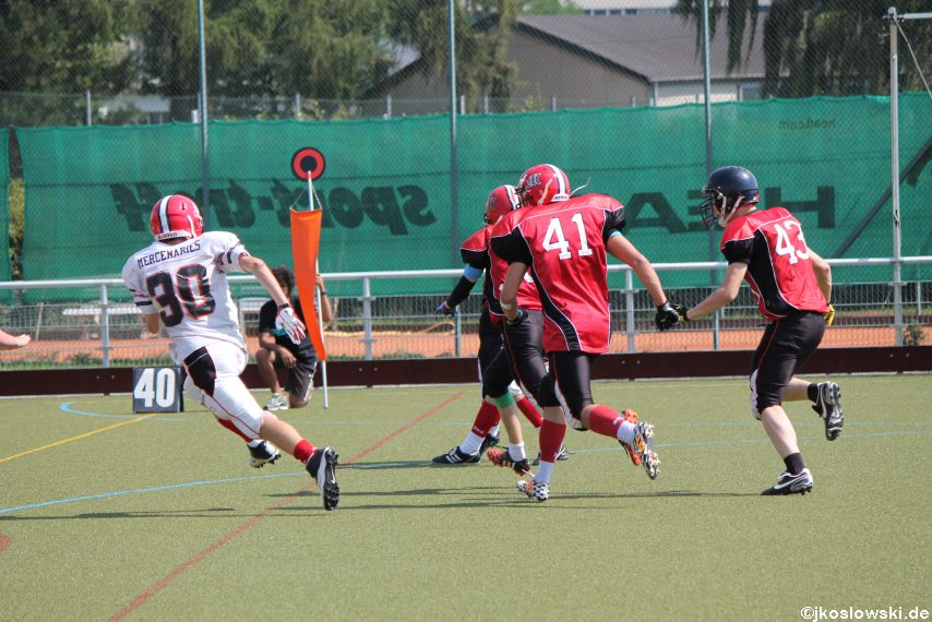 Sommer Camp der Jugend Footballer der Marburg Mercenaries 227