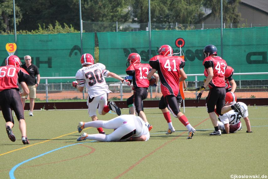 Sommer Camp der Jugend Footballer der Marburg Mercenaries 228