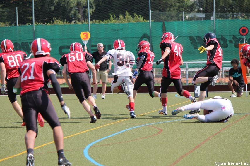 Sommer Camp der Jugend Footballer der Marburg Mercenaries 229