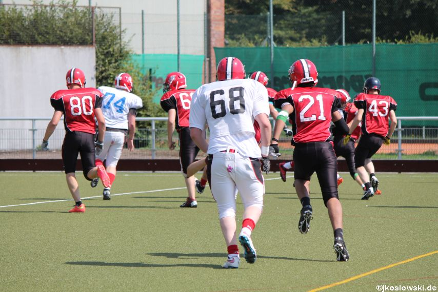 Sommer Camp der Jugend Footballer der Marburg Mercenaries 230