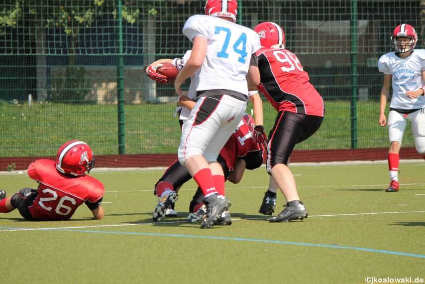 Sommer Camp der Jugend Footballer der Marburg Mercenaries 232