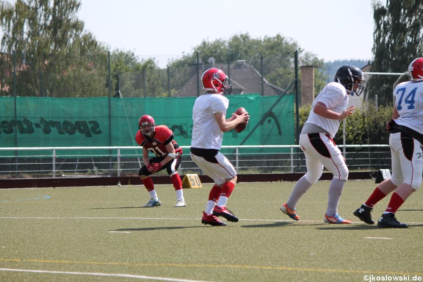 Sommer Camp der Jugend Footballer der Marburg Mercenaries 234