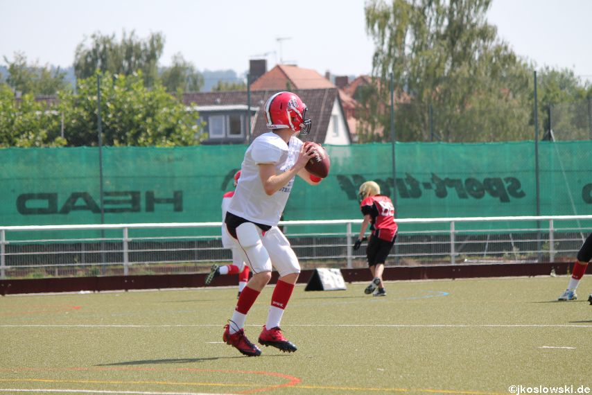 Sommer Camp der Jugend Footballer der Marburg Mercenaries 236