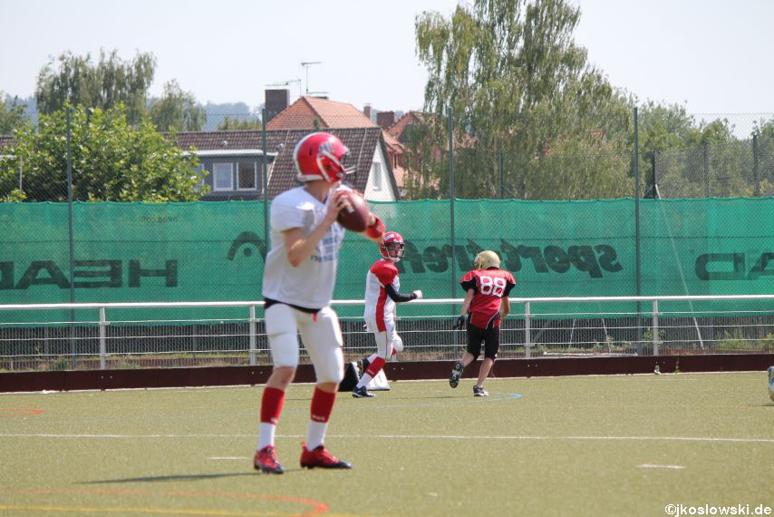 Sommer Camp der Jugend Footballer der Marburg Mercenaries 237
