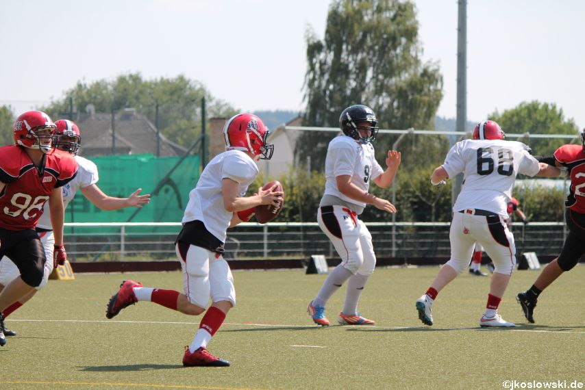 Sommer Camp der Jugend Footballer der Marburg Mercenaries 238