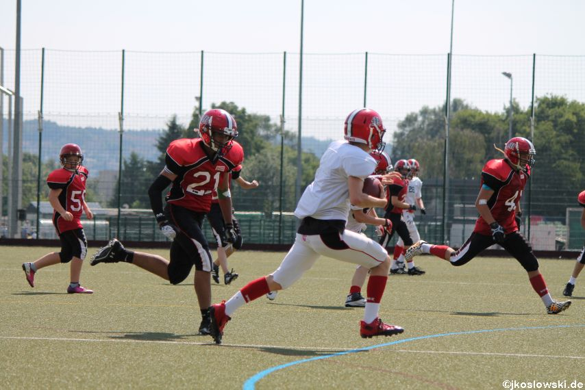 Sommer Camp der Jugend Footballer der Marburg Mercenaries 239
