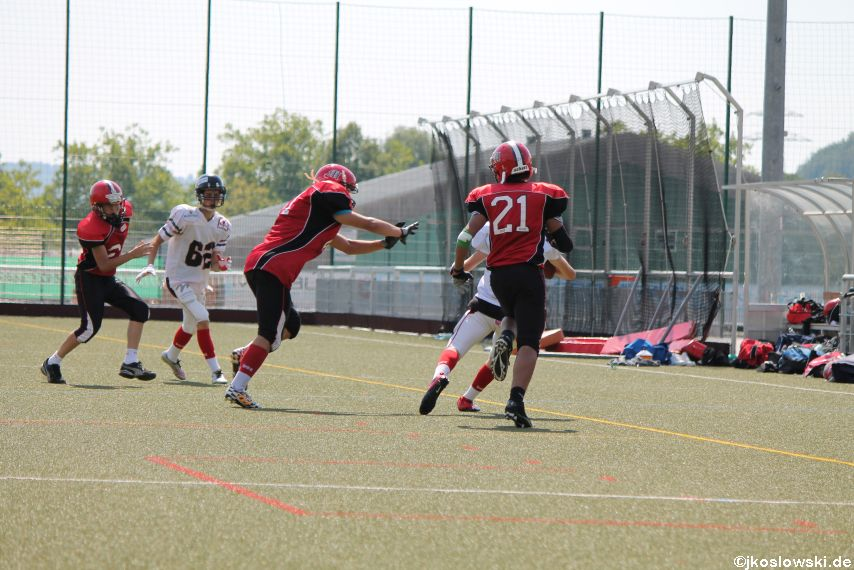 Sommer Camp der Jugend Footballer der Marburg Mercenaries 240