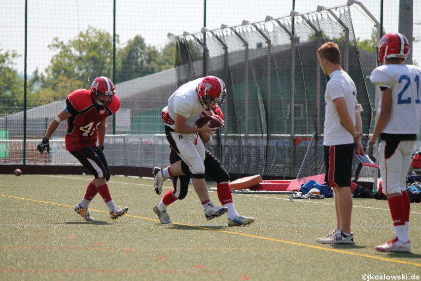 Sommer Camp der Jugend Footballer der Marburg Mercenaries 242