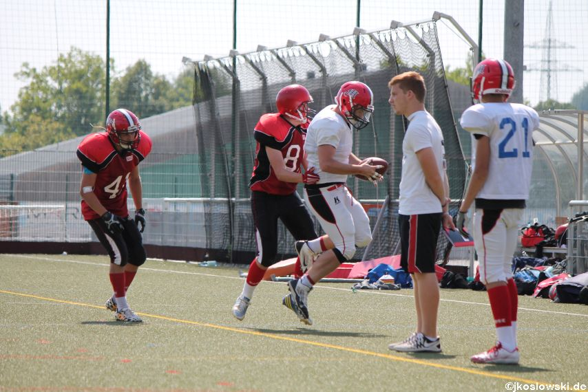 Sommer Camp der Jugend Footballer der Marburg Mercenaries 243