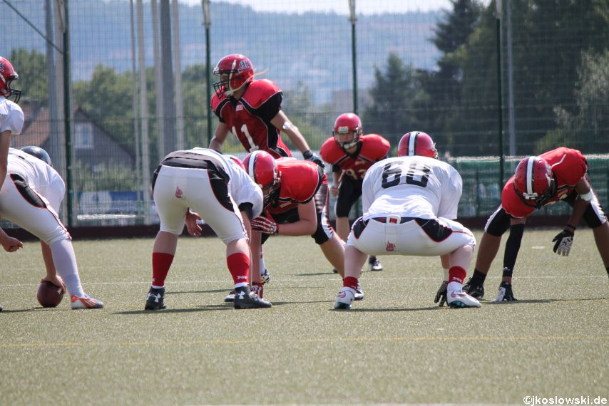 Sommer Camp der Jugend Footballer der Marburg Mercenaries 244