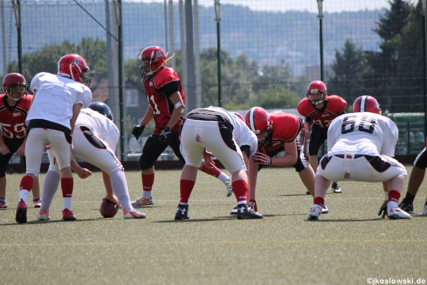 Sommer Camp der Jugend Footballer der Marburg Mercenaries 245