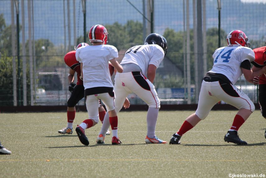 Sommer Camp der Jugend Footballer der Marburg Mercenaries 246