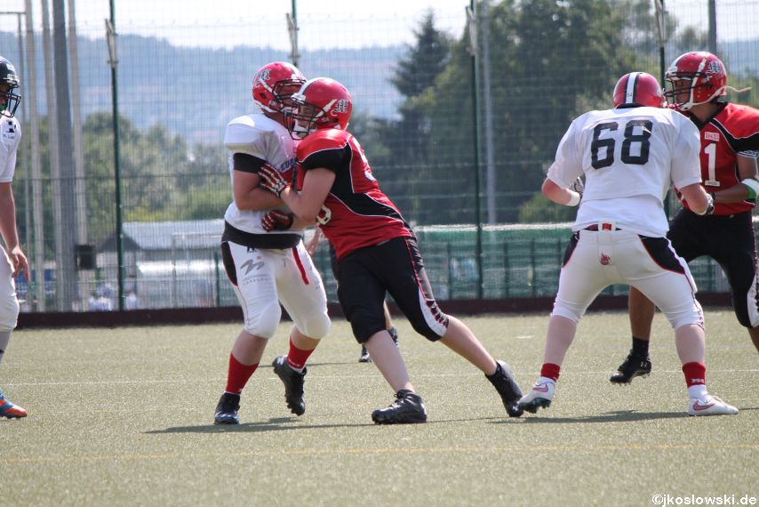 Sommer Camp der Jugend Footballer der Marburg Mercenaries 247