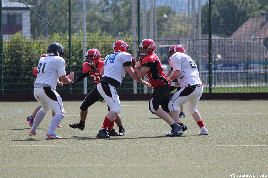 Sommer Camp der Jugend Footballer der Marburg Mercenaries 249