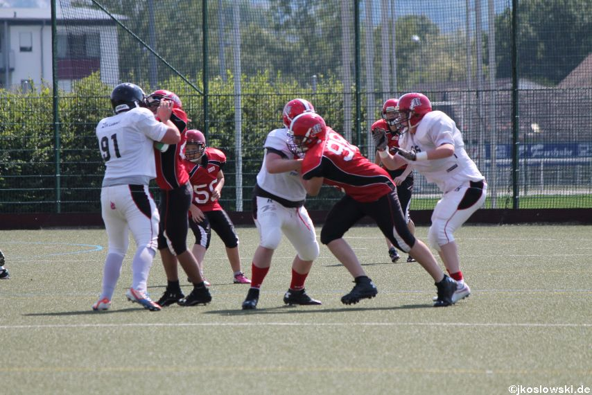 Sommer Camp der Jugend Footballer der Marburg Mercenaries 250