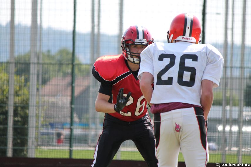 Sommer Camp der Jugend Footballer der Marburg Mercenaries 251