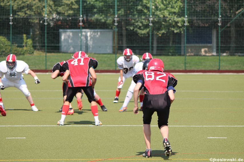 Sommer Camp der Jugend Footballer der Marburg Mercenaries 253