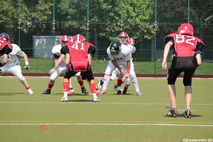 Sommer Camp der Jugend Footballer der Marburg Mercenaries 254
