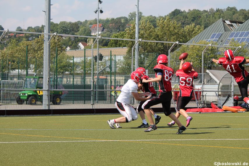 Sommer Camp der Jugend Footballer der Marburg Mercenaries 255