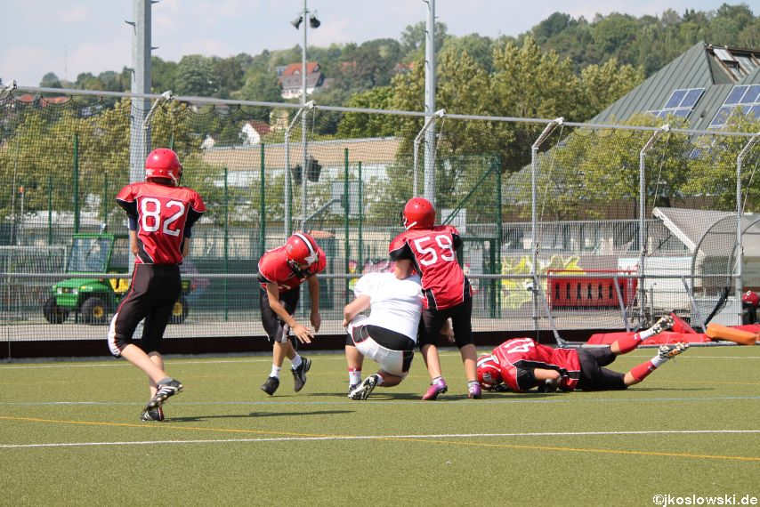 Sommer Camp der Jugend Footballer der Marburg Mercenaries 256